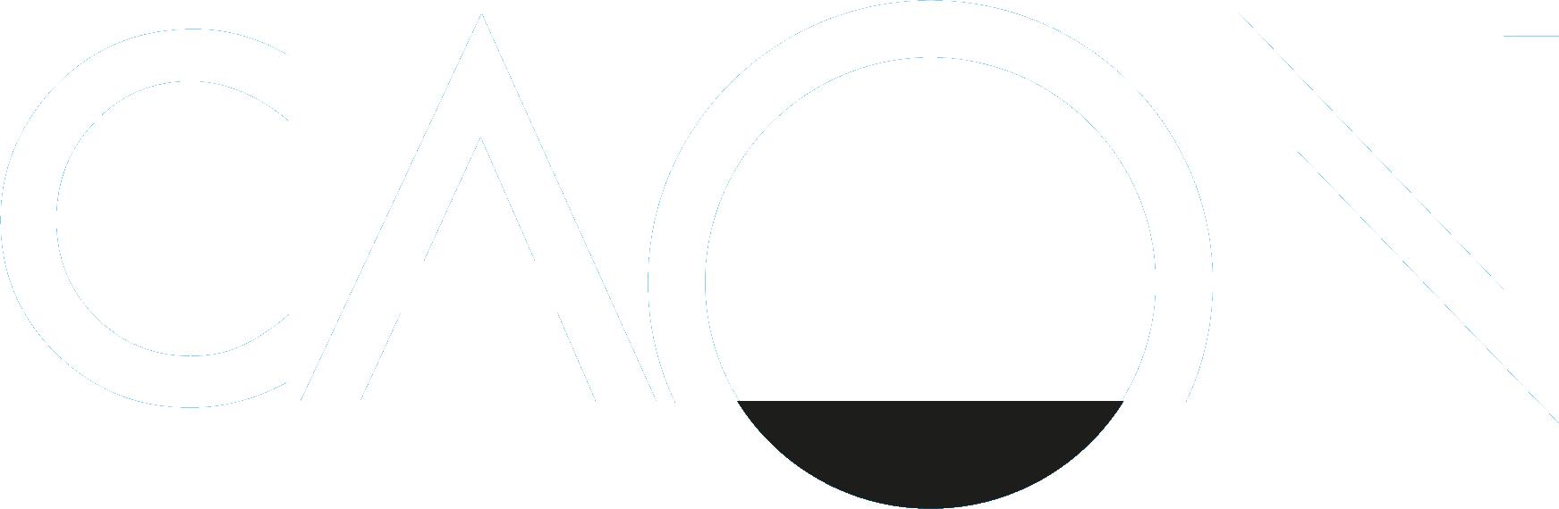 CAON Logo white